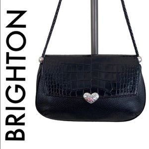 BRIGHTON BLACK SHOULDER BAG